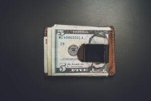 5$ בארנק