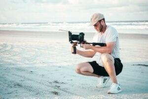 צילום מקצועי בוידאו, לפני עריכה